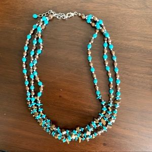3-strand necklace